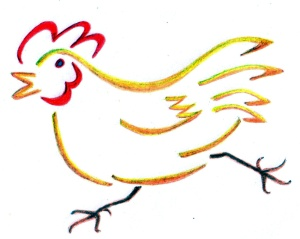 Hen Race Press logo